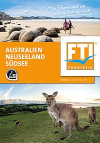 Australien, Neuseeland, Südsee April 2017 - März 2018